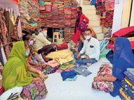 शादियों काे लेकर हाे चुकी जमकर खरीदारी, सभी तैयारियां पूर्ण पर मेहमानाें की संख्या घटानी पड़ रही भीनमाल,Bhinmal - Dainik Bhaskar