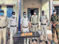 चोरी के 95 हजार जब्त, आरोपी हटा से गिरफ्तार छतरपुर (मध्य प्रदेश),Chhatarpur (MP) - Dainik Bhaskar
