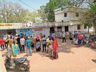 अस्पताल में ऑक्सीजन लेवल 90 से नीचे हाेने पर ही मरीजों की हाे रही कोरोना जांच होशंगाबाद,Hoshangabad - Dainik Bhaskar