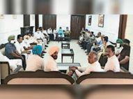 काउंसलर से मीटिंग के दौरान वार्ड की समस्याओं को दूर कर लेने का निर्णय लिया गया|पटियाला,Patiala - Dainik Bhaskar