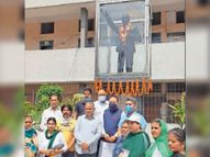 बीएसपी ने सुखबीर और भाजपा के खिलाफ की नारेबाजी कांग्रेस ने अकालियों की भीड़ देख बदला कार्यक्रम स्थल|जालंधर,Jalandhar - Dainik Bhaskar