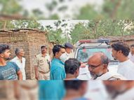 पत्नी की गला रेतकर हत्या, पति गिरफ्तार, रामकिस्कू ने की थी दो शादी, दूसरी पत्नी को लाना चाहता था घर|बहादुरगंज,Bahadurganj - Dainik Bhaskar
