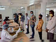 सहाड़ा में भाजपा प्रत्याशी रतनलाल भी पाॅजिटिव, जिले में 355 नए संक्रमित मिले|भीलवाड़ा,Bhilwara - Dainik Bhaskar