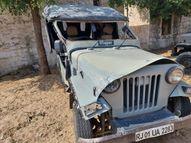 जानवर से टकराकर पलटी जीप; महिला की मौत, मां-बेटे सहित तीन लोग घायल|नागौर,Nagaur - Dainik Bhaskar