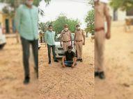 नाकाबंदी तोड़ भागने का किया प्रयास, जोधपुर क्षेत्र से लेकर आया था पोस्त|श्रीगंंगानगर,Sriganganagar - Dainik Bhaskar