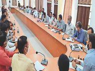 पार्षदाें के आरोपों से शुरू, बीच में अधिकारियों की नसीहत व आखिर में विवाद के साथ खत्म|नागौर,Nagaur - Dainik Bhaskar