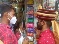 बाजार हाउसफुल, शादियों की खरीदारी से जमकर चला बाजार का हर सेक्टर|ग्वालियर,Gwalior - Dainik Bhaskar