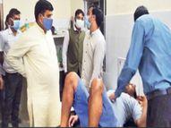 दशाेटन में दूषित भाेजन से 119 लाेग हुए बीमार, पपीता शेक से फूड पॉइजनिंग की आशंका|सीकर,Sikar - Dainik Bhaskar