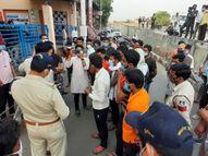 परिजन का आरोप- मौत के बाद भी दवाएं मांग रहे थे डॉक्टर, जब खुद जाकर देखा तब बताया मृत|सागर,Sagar - Dainik Bhaskar