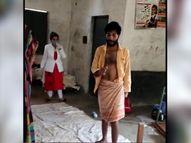 गांव में टीकाकरण करने पहुंची टीम पर हमला, कुर्सी तोड़ी-वैक्सीन बॉक्स भी फेंका, उपद्रवी बोले- वैक्सीन से लोग मर रहे|ग्वालियर,Gwalior - Dainik Bhaskar