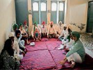 थापर यूनिवर्सिटी चौक में हुए हादसे में जान गंवाने वाले लोगों के समर्थन में उतरे किसान संगठन|पटियाला,Patiala - Dainik Bhaskar