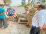 गुरु गोबिंद सिंह एवेन्यू में उद्योगपति के घर में घुसे चोर, नाकाम हाेने पर आग लगा फरार|जालंधर,Jalandhar - Dainik Bhaskar