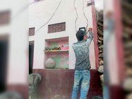 मंत्री की फटकार के बाद डिस्कॉम ने बीपीएल विधवा के घर सवेरे आठ बजे ही जोड़ दिया बिजली कनेक्शन पाली,Pali - Dainik Bhaskar