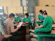 इलाज के साथ ही मरीजों की इच्छा शक्ति भी जरूरी|कवर्धा,Kawardha - Dainik Bhaskar