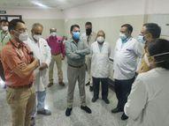 इंदौर में बढ़ेगी फीवर क्लीनिकों की संख्या, निजी अस्पताल फोन नंबर और बेड की जानकारी रिसेप्शन पर चस्पा करेंगे; 1 से 2 हजार रेमडेसिविर कंपनी हर दिन करेगी सप्लाई इंदौर,Indore - Dainik Bhaskar