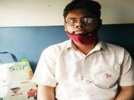 पूरे परिवार को कोरोना हुआ तो डरकर डायमंड कारोबारी का 21 साल का बेटा सूरत से भागकर इंदौर पहुंच गया, बोला - माता-पिता क्वारैंटाइन हैं इंदौर,Indore - Dainik Bhaskar