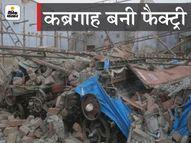 ठाणे में पॉवरलूम फैक्ट्री की दीवार और छत गिरी, 4 गंभीर रूप से घायल|मुंबई,Mumbai - Dainik Bhaskar