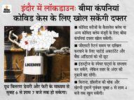 कलेक्टर बोले- संक्रमण दर स्थिर हुई लेकिन कम नहीं, सात हजार बेड हैं वह भी कम पड़ेंगे; नतीजा- 26 अप्रैल की सुबह 6 बजे तक सब बंद इंदौर,Indore - Dainik Bhaskar
