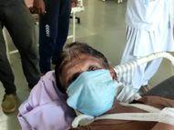 कोरोना रोकथाम के लिए सर्वे करने गए शिक्षकों पर ग्रामीणों ने लकड़ी, पत्थर से किया हमला, एक शिक्षक का तीन जगह से तोड़ा हाथ, दो शिक्षकों ने भागकर बचाई जान झाबुआ,Jhabua - Dainik Bhaskar