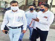 दलाल वकील और परिजनों के खाताें में मिले 17 लाख रुपए|अजमेर,Ajmer - Dainik Bhaskar