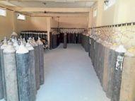 जेएलएन में हर घंटे खाली हाे रहे हैं 64 ऑक्सीजन सिलेंडर 24 घंटे में सप्लाई 300 से 1500 तक पहुंची|अजमेर,Ajmer - Dainik Bhaskar