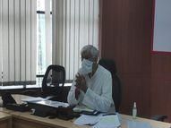 छत्तीसगढ़ ने बताया- ICU में 100% ऑक्यूपेंसी, केंद्र सरकार से 100 प्री फैब्रिकेटेड ICU यूनिट मांगी|रायपुर,Raipur - Dainik Bhaskar