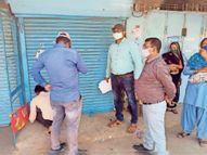 सुंद्रैल में दाे दिन में दाे लाेगाें की माैत टांडा में काेल्डड्रिंक की दुकान सील धार,Dhar - Dainik Bhaskar