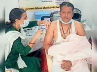 40 दिन में सिर्फ 3120 को लगी वैक्सीन सतवास,satwas - Dainik Bhaskar