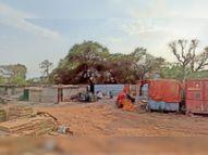 पलायन न करें मजदूर इसलिए कंपनी ने घर बनाकर दिए, सैनिटाइजर और दवा भी बांटी|होशंगाबाद,Hoshangabad - Dainik Bhaskar