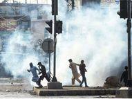 लाहौर में तहरीक-ए-लब्बैक का धरना खत्म कराने पहुंची पुलिस पर हमला, झड़प में 3 की मौत; पुलिसवालों को बंधक बनाया|विदेश,International - Dainik Bhaskar