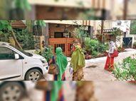 घर-घर जाकर सर्दी-खांसी और बुखार वालों के नोट कर रहे मोबाइल नंबर, मानिटरिंग भी|रायपुर,Raipur - Dainik Bhaskar