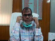 अव्यवस्थाओं की पहली गाज मेडिकल कॉलेज के प्रिंसिपल पर गिरी, डॉ. मीणा को पद से हटाया|जोधपुर,Jodhpur - Dainik Bhaskar
