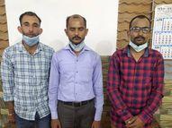 UP में रेमडेसिविर की जमाखोरी अब 'राष्ट्रदोह'; कानपुर में गिरफ्तार तीन तस्करों पर लगेगा NSA|कानपुर,Kanpur - Dainik Bhaskar