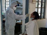 पिछले 24 घंटे में 30 संक्रमितों की हुई मौत, 6 दिन में 193 मरीजों ने तोड़ा दम; 23 हजार पार हुई एक्टिव पेशेंट्स की संख्या|धनबाद,Dhanbad - Dainik Bhaskar