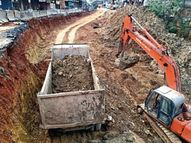 गोगांव ब्रिज का काम धीमा पर बन जाएगा बारिश से पहले|रायपुर,Raipur - Dainik Bhaskar