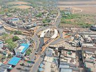एरोड्रम सर्किल पर आज से शुरू होगा ट्रैफिक; अंडरपास कुछ दिन बाद शुरू होगा|कोटा,Kota - Dainik Bhaskar