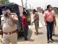 बिना मास्क 72432 लोग पकड़े गए, इसमें आज 3987; अब तक 137590 गाड़ियां जब्त, इसमें आज 385|पटना,Patna - Dainik Bhaskar