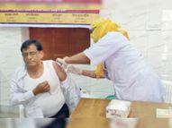 वैक्सीनेशन ने फिर पकड़ी रफ्तार, 270 सेंटर्स पर 7 हजार टीके लगे|उदयपुर,Udaipur - Dainik Bhaskar