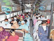 अब तक के सबसे ज्यादा 527 पॉजिटिव मिले, जिले में एक्टिव केस बढ़कर 2779 हुए, फिर भी जगह-जगह लापरवाही की भीड़|हिसार,Hisar - Dainik Bhaskar