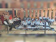 बार एसो. ने धरना किया था स्थगित, वकीलों के एक गुट ने धरना जारी रखने का किया ऐलान|हिसार,Hisar - Dainik Bhaskar