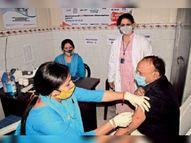 वैक्सीनेशन-डे में 3 हजार 938 काे लगाए गए टीके, पहली डाेज का आंकड़ा 96 हजार के पार|पानीपत,Panipat - Dainik Bhaskar