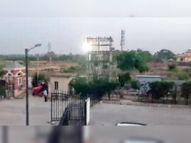 एल्डिको इस्टेट-1 में फिर बिजली सप्लाई बाधित, ट्रांसफार्मर के पास आया फॉल्ट|पानीपत,Panipat - Dainik Bhaskar