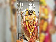 मंदिरों में ताले हैं, अष्टमी पर आप घर बैठे करिए मां के दर्शन|भोपाल,Bhopal - Dainik Bhaskar