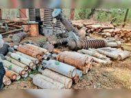 मिलेंगी सांसें: एमपीटीसी ने दिए 1 हजार जंबो ऑक्सीजन सिलेंडर|होशंगाबाद,Hoshangabad - Dainik Bhaskar