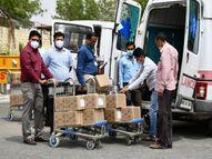 अंचल के लिए रेमडेसिविर इंजेक्शन के 50 बॉक्स मिले, 24 बॉक्स डोज ग्वालियर को मिलेंगे|ग्वालियर,Gwalior - Dainik Bhaskar