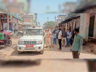 नई गाइडलाइन देर रात जारी हुई, सुबह व्यापारियों ने दुकानें खोली, पुलिस ने समझाइश कर बंद करवाई पाली,Pali - Dainik Bhaskar