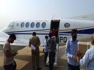 बैंगलुरु से 312 बॉक्स में करीब 15 हजार इंजेक्शन लेकर प्रदेश सरकार का प्लेन इंदौर पहुंचा, यहां से प्लेन भोपाल के 57, जबलपुर, ग्वालियर के 50-50 बॉक्स लेकर उड़ा इंदौर,Indore - Dainik Bhaskar