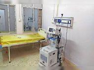 मरीजों की उखड़ रहीं सांसें, डाॅक्टर और टेक्नीशियन के अभाव में 19 वेंटिलेटर पड़े हैं बेकार|भागलपुर,Bhagalpur - Dainik Bhaskar