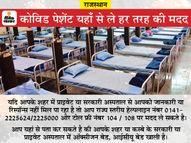 सरकारी और प्राइवेट कोविड अस्पतालों में बेड खाली हैं या नहीं, अपडेट जानने के लिए यहां कीजिए कॉल; पढ़िए पूरी लिस्ट|नागौर,Nagaur - Dainik Bhaskar