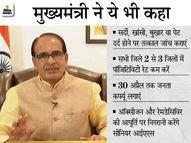 काेरोना संक्रमण की चेन तोड़ने के लिए पॉजिटिविटी रेट घटाने पर फोकस करें, सैंपल टेस्ट के साथ ही मेडिसिन किट दें|भोपाल,Bhopal - Dainik Bhaskar